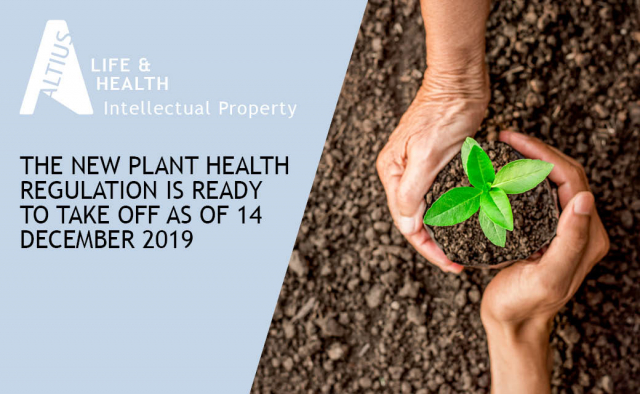 The new Plant Health Regulation is ready to take off as of 14 December 2019