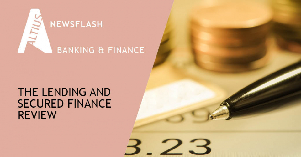 The Lending and Secured Finance Review